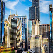 Chicago High Resolution Picture Art Print