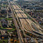 Chicago Highways 02 Art Print