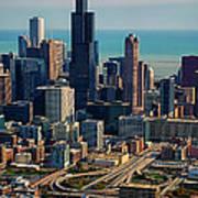 Chicago Highways 05 Art Print