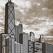 Chicago Illinois No Text Art Print