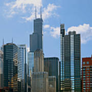 Chicago - It's Your Kind Of Town Print by Christine Till
