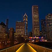 Chicago Lights Art Print