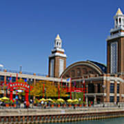 Chicago Navy Pier Headhouse Art Print