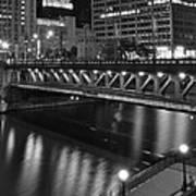 Chicago Nights Art Print