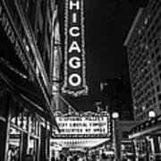 Chicago Nights Art Print by Terry Rowe
