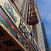 Chicago - Oriental Theatre Art Print