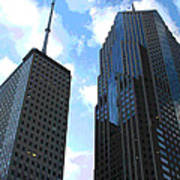 Chicago - Prudential Building Art Print