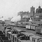 Chicago Railroads, C1893 Art Print