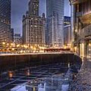 Chicago Reflected Art Print