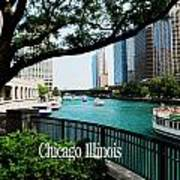 Chicago River Front Art Print