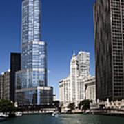 Chicago River Scenic Art Print
