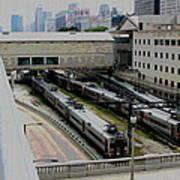Chicago - South Shore Train Yard Art Print