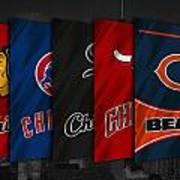 Chicago Sports Teams Art Print