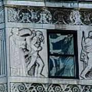 Chicago Stonework Art Print