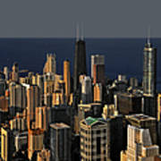 Chicago - That Famous Skyline Art Print by Christine Till