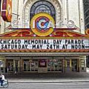 Chicago Theater Signage Art Print