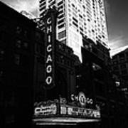 Chicago Theater  Art Print