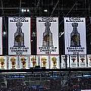 Chicago United Center Banners Art Print