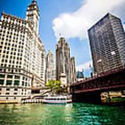 Chicago Wrigley Tribune Equitable Buildings Photo Art Print