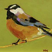 Chickadee Iv Art Print