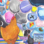 Chicken Littles Sky Collection Art Print