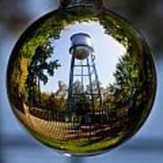 Chico Water Tower Art Print