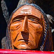 Chief Looking Art Print