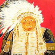 Chief Seattle 1 Art Print