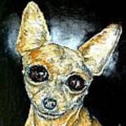 Chihuahua Angel Art Print by Jay  Schmetz