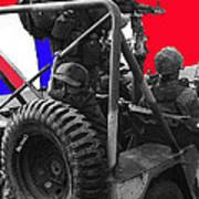 child soldier 100th anniversary parade nogales Arizona 1980-2012 Art Print