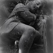 Child Statue Art Print by Jennifer Burley