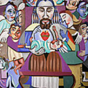 Childern A Gift From God Art Print by Anthony Falbo