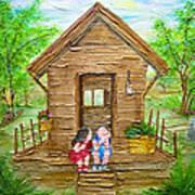 Childhood Retreat Art Print