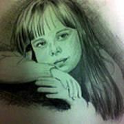 Childhood Art Print by Soumya Bouchachi