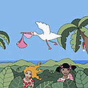 Children 2 Art Print