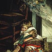 Children Dreaming Of Toys Art Print