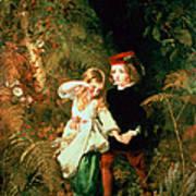 Children In The Wood Art Print