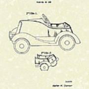 Child's Car  Art Print