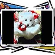 Child's Teddy Bear Art Print
