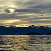 Chilkat Sunset Art Print