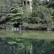 Chimes Tower Reflection Art Print