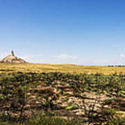 Chimney Rock - Bayard Nebraska Art Print