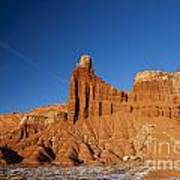 Chimney Rock Capitol Reef National Park Utah Art Print