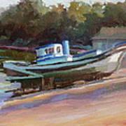 China Camp Boat Art Print