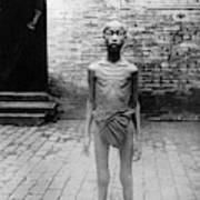 China Famine Victim Art Print