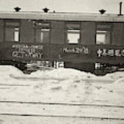 China Railroad, 1918 Art Print
