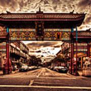 China Town Victoria Art Print