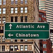 Chinatown Boston Art Print
