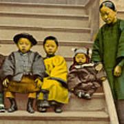 Chinatown Family Art Print