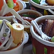 Chinese Food Miniatures 3 Art Print